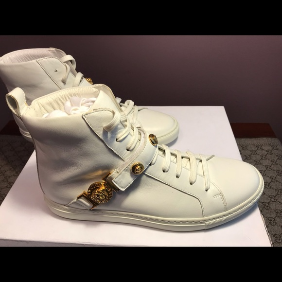 Versace Shoes | New Versace White Gold